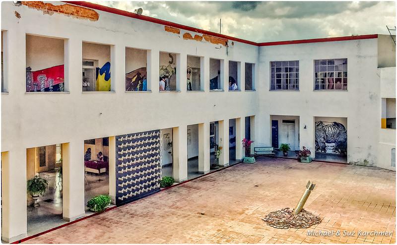 Art School Courtyard