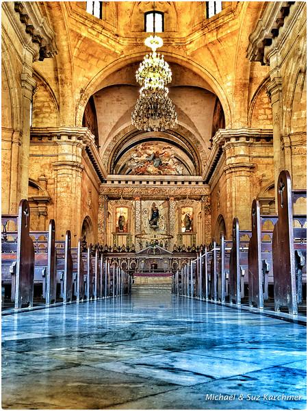 Interior of Havana Cathedral