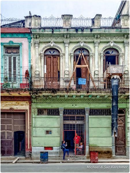 Construction in Old Havana