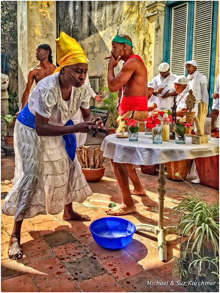 Ritual Afro-Cuban Dancing