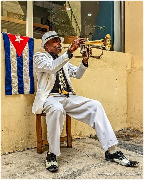 Street Performer in Old Havana
