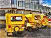 Three-wheeled taxis at Hotel
