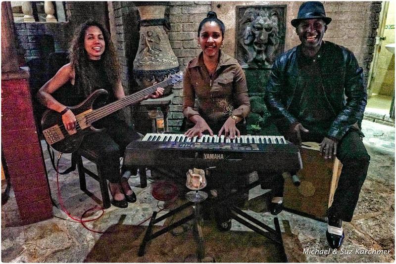 Musicians at La Moraleja Paladar