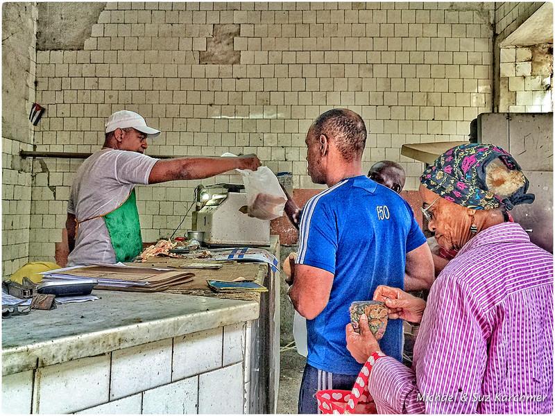 Poultry Vendor in Old Havana
