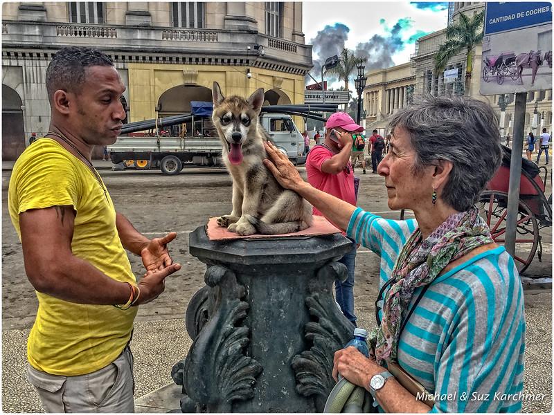 Suz in Old Havana