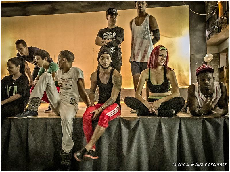 Havan Queens after the rehearsal