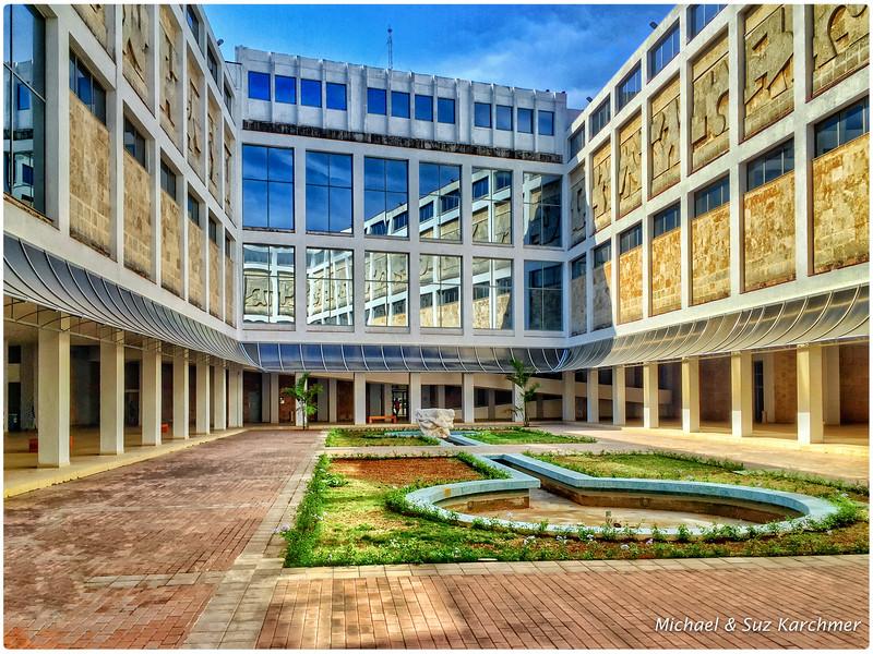 Courtyard Bellas Artes Museum of Cuban Art