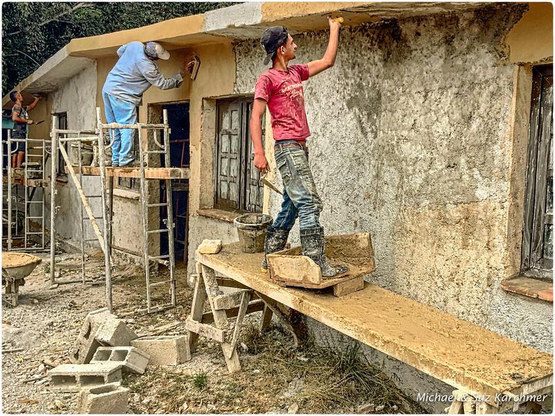 Renovation at Hemingway House