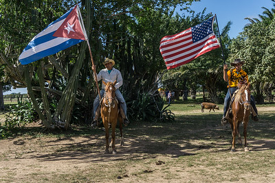 In 1952, the King Ranch of Texas bought a ranch in Cuba.  The ranch of more than 38,000 acres was no longer part of the King Ranch, Inc in 1959 as a consequence of the Cuban revolution.