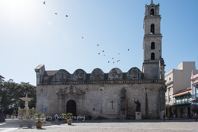 Basilica Menor de San Francisco de Asis in the Plaza de San Francisco in Havana, Cuba