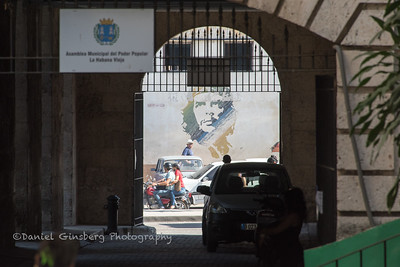 Mural of Che Guevera in Old Havana, Cuba