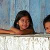 Kids in a schoolhouse - Acajatuba, Brazil, March 7, 1999