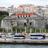 Havana - Castillo de la Real Fuerza and buses