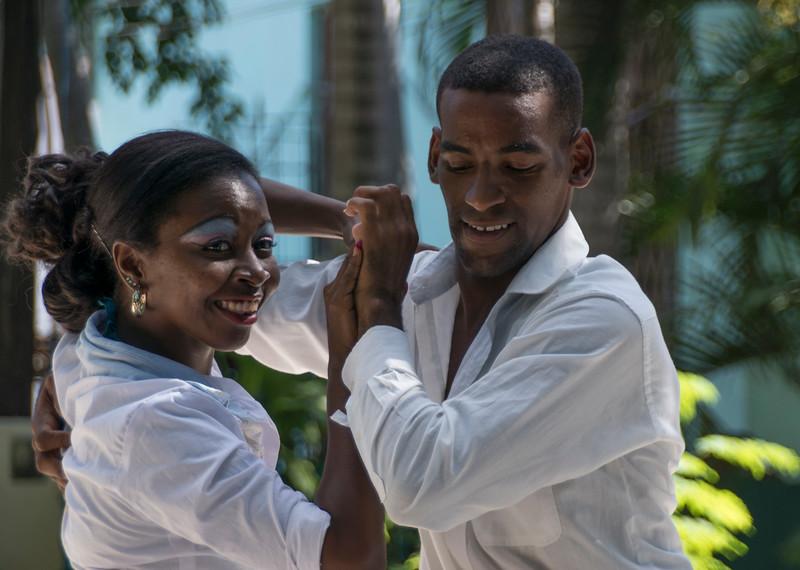 Dancers, African Heritage Institute, Santiago de Cuba