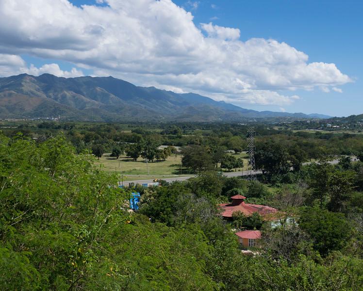 View from San Juan Hill, Santiago de Cuba