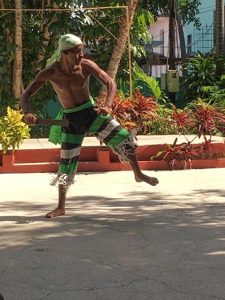 Dancer, African Heritage Institute, Santiago de Cuba