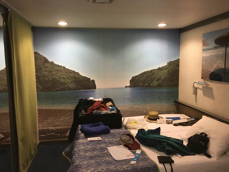 Patrick's stateroom