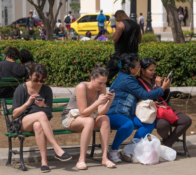 It's the same everywhere, Cienfuegos, Cuba