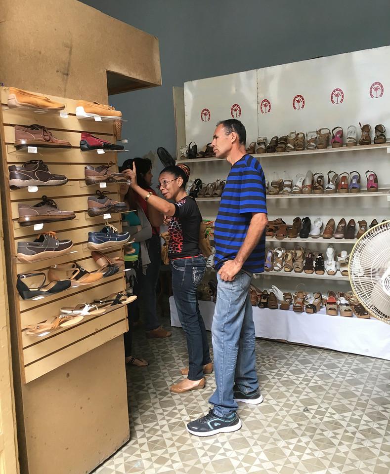 Shoe store, Cienfuegos