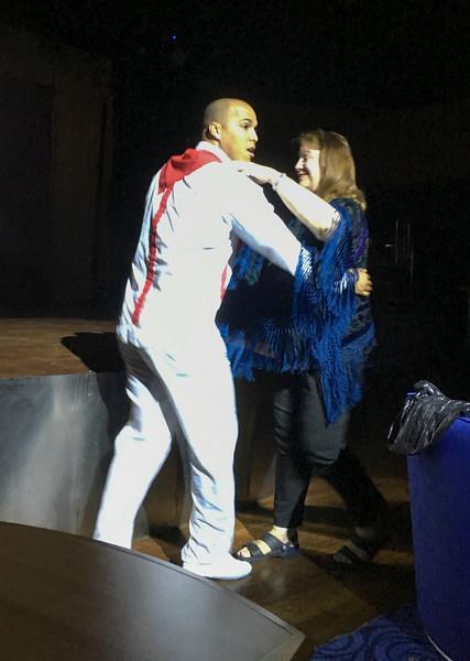 Jerilynn dances