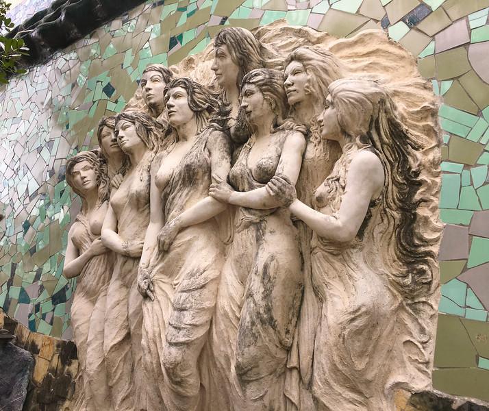 Sculpture at the Art Institute, Cienfuegos