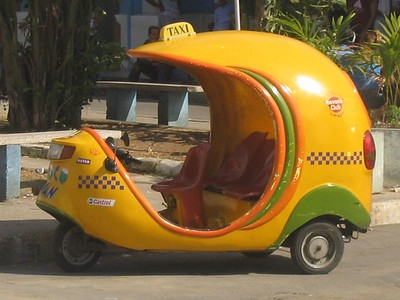 Coconut car in Havana, Cuba