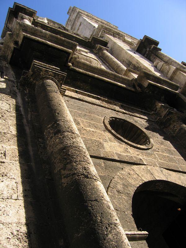 Stone church in Havana Cuba