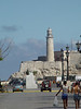 A view of Morro Castle and the light at the entrance to Havana Harbor