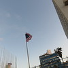 The American flag at the Embassy by Revolution Square on the Malecon.