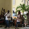 We experienced live music throughout Old Havana, often in the restaurants.