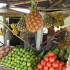 Fruit stand by the road in Holguin province.
