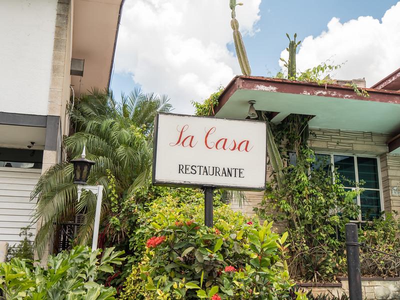 La Casa Restaunte,  Havana, Cuba, June 2, 2016.