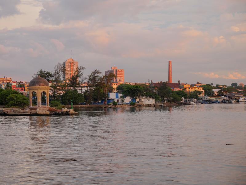 View from  Rio Mar, Havana, Cuba, June 2, 2016.