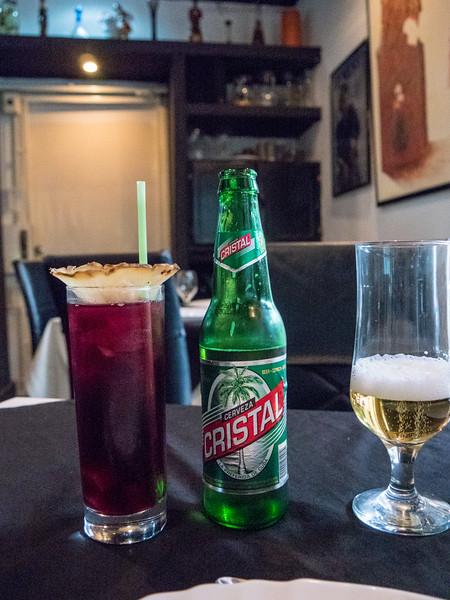 Cristal, La Casa Restaunte,  Havana, Cuba, June 2, 2016.