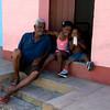 Grandpa and kids, Trinidad
