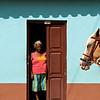 Woman and horse head, Trinidad