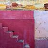 Red steps vertical, Trinidad