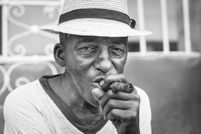 Cigar man, Trinidad