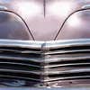 Close up view of Classic American car with 'Havana' numberplate.