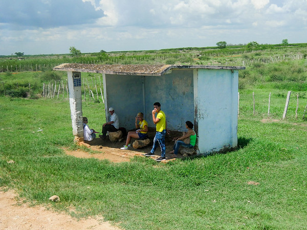 Road trip from Jucara to Havana, Cuba, June 10, 2016