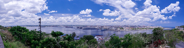 View of Port Havana from Cristo de la Habana, Havana, Cuba, June 11, 2016.