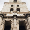 The bell tower of Basilica Menor de San Franciso de Asis, La Habana Vieja (Old Havana), Cuba