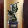 Bust of Hemingway in his favorite restaurant