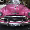 Pink Chevy at Ernest Hemingway's estate