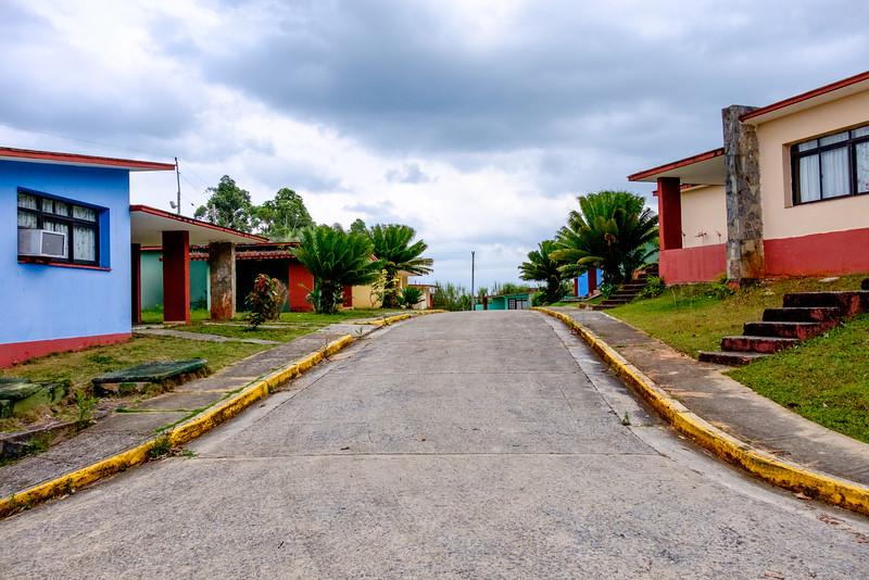 Housing in Topes de Collantes park.