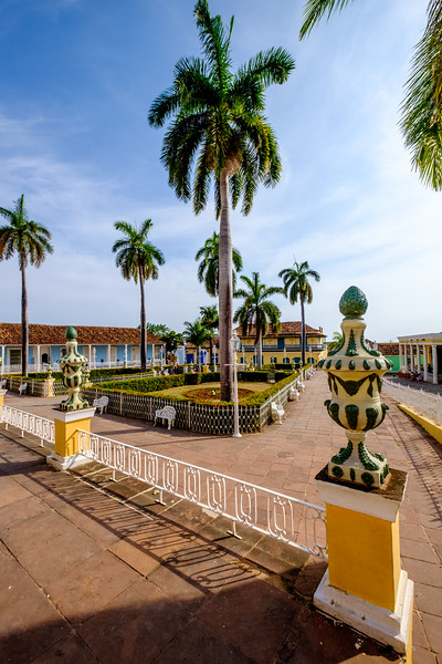 Plaza Mayor in Trinidad.