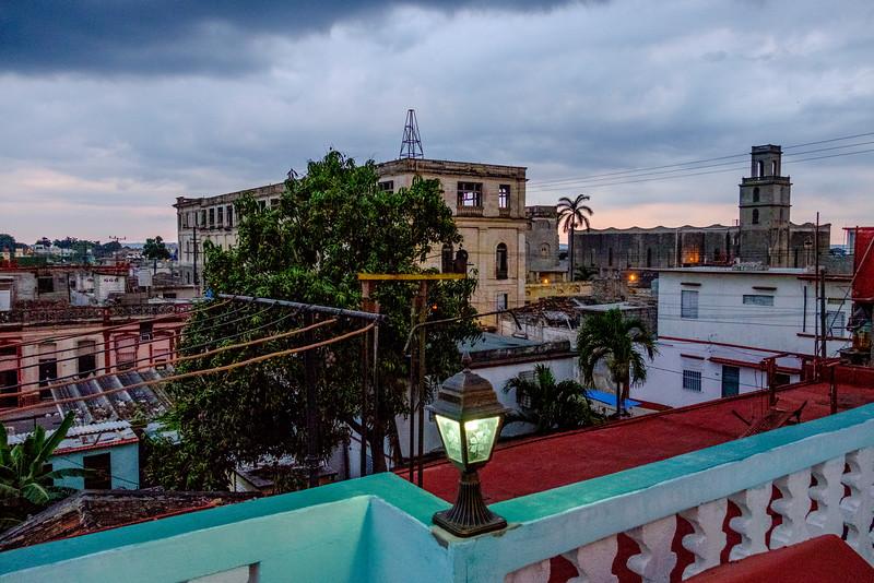 Cienfuegos as seen from the rooftop of Hostal Ivan y Lili in Cienfuegos.