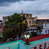 Cienfuegos as seen from the rooftop of Hostal Ivan y Lili in Cienfuegos.