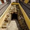 Underground tunnel entrance in Old Havana.