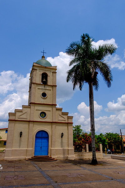 A church in Viñales.
